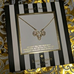 Kate Spade Aries charm necklace